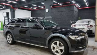 Установка Starline AS96 BT 2can lin GSM на Audi A6 Allroad